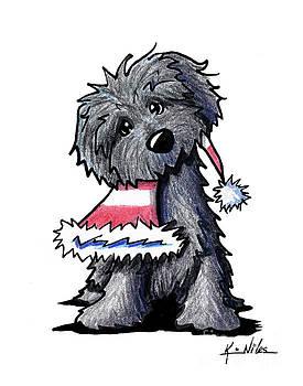 Bouvier des Flandres Puppy by Kim Niles