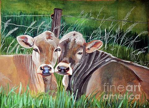 Bovine Besties by Lori Moon