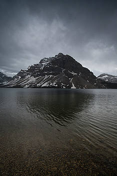 Bow Lake, Alberta, Canada by David Stanley