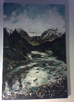 Bow River by Pamela Moore
