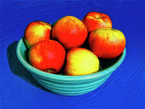 Dominic Piperata - Bowl of Apples
