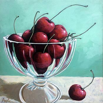 Bowl of Cherries by Linda Apple