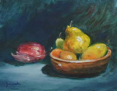 Bowl of Fruit by Alan Zawacki by Alan Zawacki