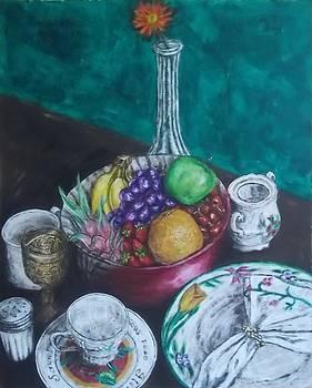 Bowl of Fruit by John Fierro
