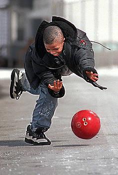 Bowling Boy by Aimee K Wiles-Banion