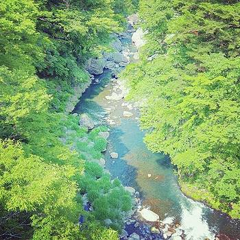 @bowsanpo  #mountainstream #nature by Bow Sanpo