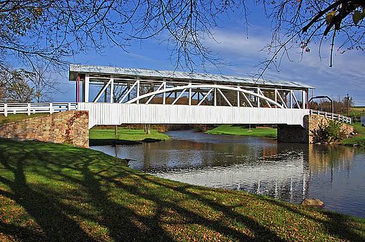 Bowser Covered Bridge by Ben Prepelka