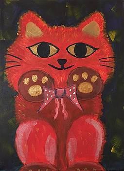 Bowtie Fuzzy 1 by Iris Wong