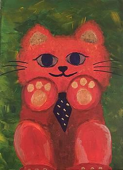 Bowtie Fuzzy 2 by Iris Wong