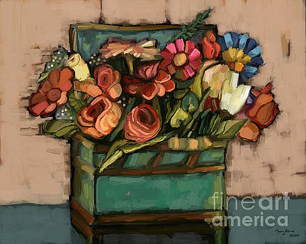 Box of Flowers by Carrie Joy Byrnes