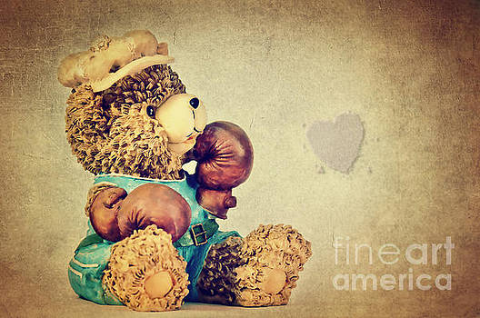 Boxer Bear II by Angela Doelling AD DESIGN Photo and PhotoArt