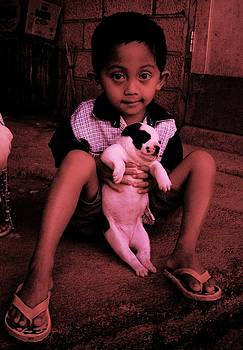 HweeYen Ong - Boy And Puppy