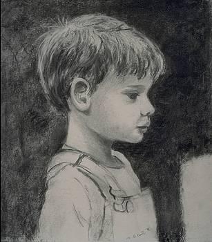 Mary Erbert - Boy in Overalls
