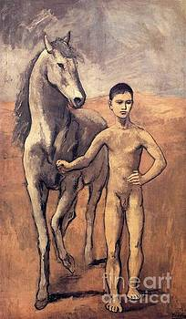 Picasso - Boy Leading A Horse