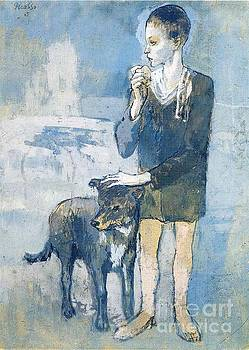 Picasso - Boy With A Dog