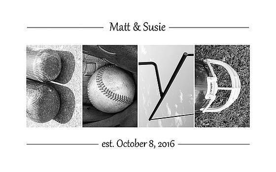 Boyd Custom Alphabet Art by Kathy Stanczak