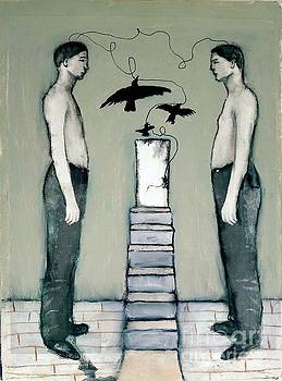 Boys With Crows by Linda Marcille