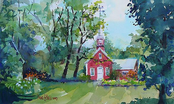 Boyton Road Schoolhouse by Diane Bell