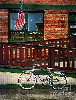 Bozeman Antique Bicycle by Craig J Satterlee