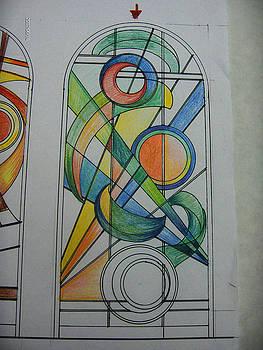 Bozzetto di vetrata. Come nasce un capolavoro artigianale by Morena Di Pressa