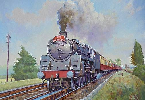 BR Standard Five 4-6-0. by Mike Jeffries