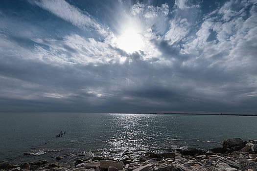 Bradford Beach Milwaukee WI by Steve Gadomski