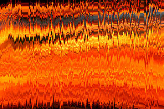 Michelle  BarlondSmith - Brain Waves Abstract