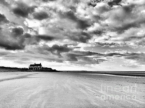 Brancaster Beach Mono by John Edwards