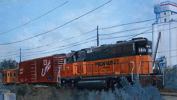 Branch line GP35 by Donovan Furin
