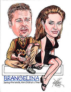 Brangelina by Neal Portnoy