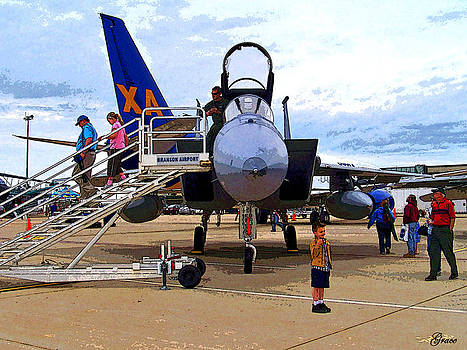 Branson Airport Airshow by Julie Grace