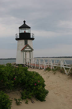 Brant Point Lighthouse, Nantucket MA by Bob See
