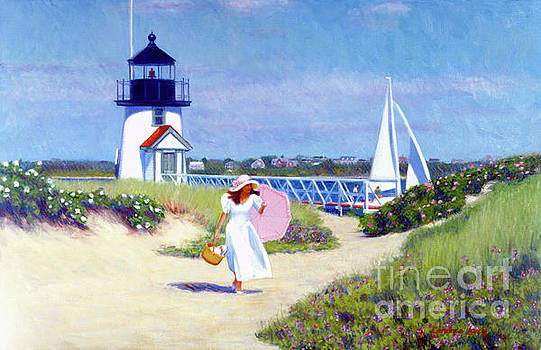 Brant Point Walk by Candace Lovely