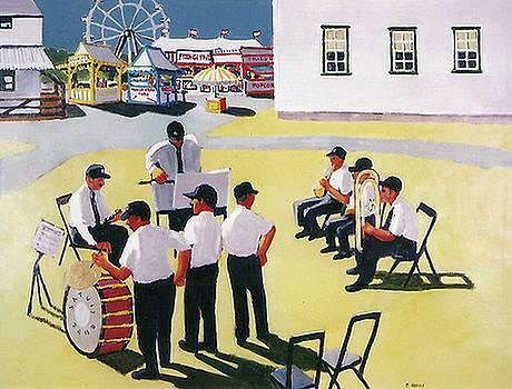 Brass Band by Carolyn Harvey