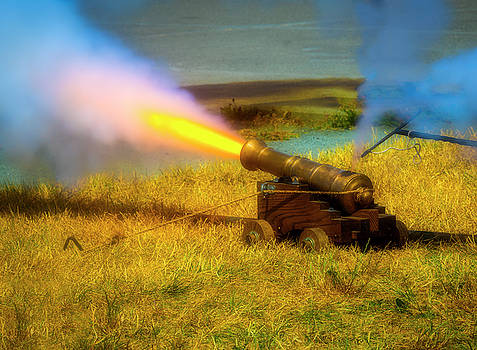 Brass Cannon Firing by Garry Gay