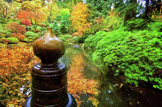 Thom Zehrfeld - Brass Crown At The Japanese Gardens