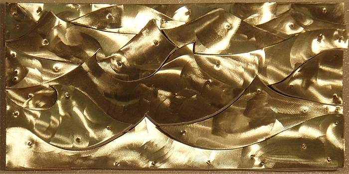 Brass waves by Harry Spitz