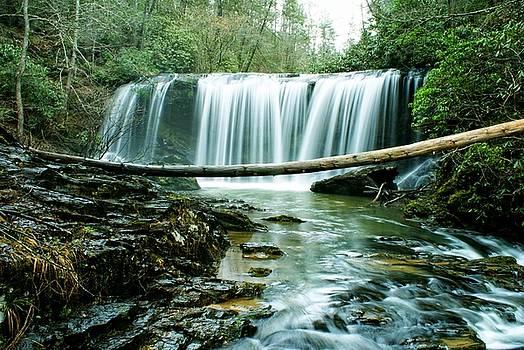 Brasstown Falls by Adam Dowling