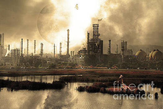 Wingsdomain Art and Photography - Brave New World 7d10358 v3 sepia