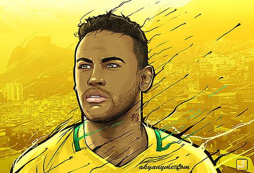 Brazilian Gold Rio Janeiro by Akyanyme