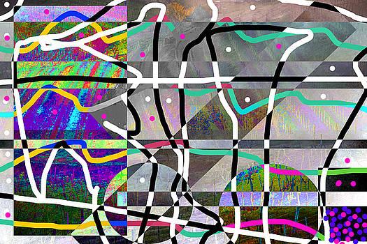 Brda - Collio Abstract by Matjaz Preseren