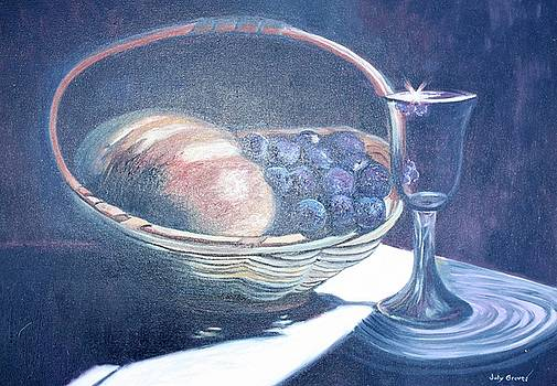Bread and Wine by Judy Groves