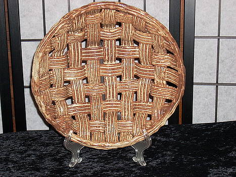 Bread-Weaved Basket by Carroll  Dorrell-Hightower
