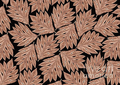 Breadfruit Leaves Pattern by Three Second
