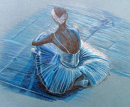 Break Dancer on Break by Dan Hausel