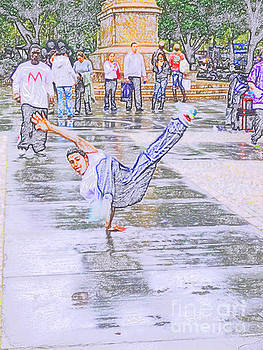 Break Dancer by Artists With Autism Inc