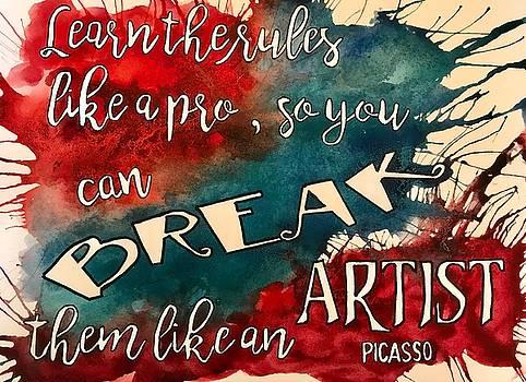 Break the Rules by Diane Fujimoto