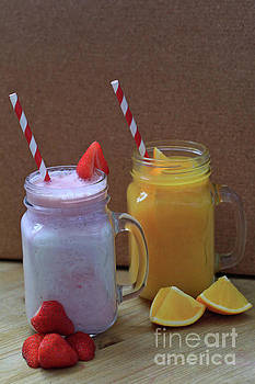 Breakfast and Afternoon Smoothies by Tracy Hall