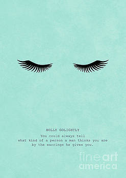 Breakfast At Tiffany's_ Holly Golightly Quote by Inkshadow By Mica