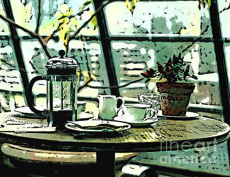 Breakfast Coffee Table by Phil Perkins